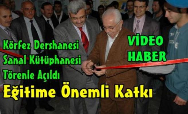 Sanal Kütüphane Törenle Açıldı(VİDEO)