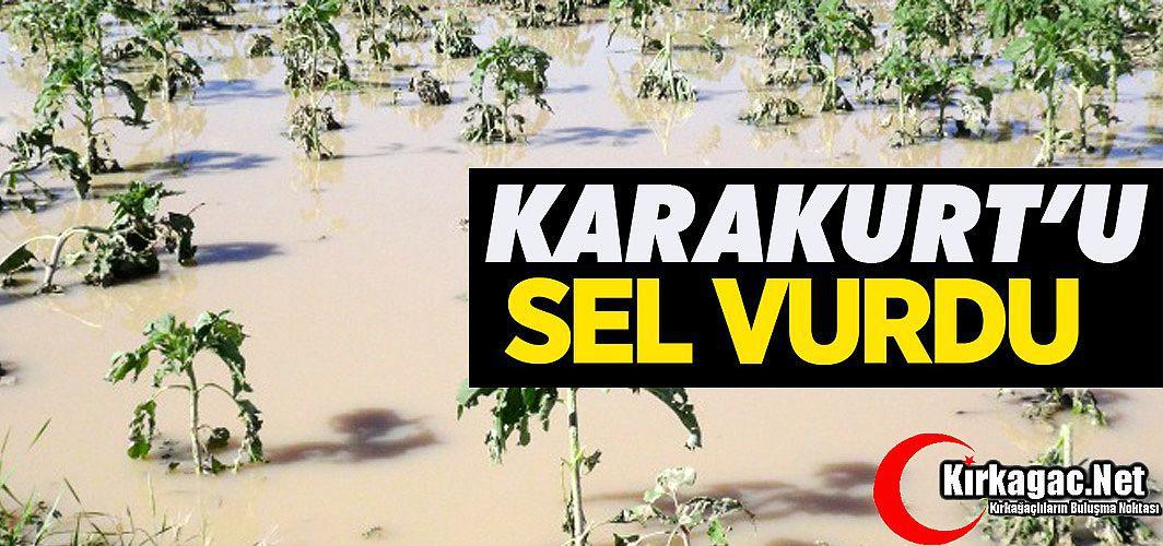 KARAKURT'U SEL VURDU
