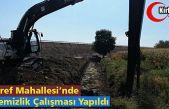 """ŞAİR EŞREF MAHALLESİ'NDE """"DERE TEMİZLİK"""" ÇALIŞMASI YAPILDI"""