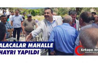 ALACALAR MAHALLE HAYRI YAPILDI