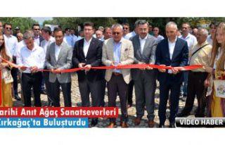 TARİHİ ANIT AĞAÇ SANATSEVERLERİ KIRKAĞAÇ'TA...