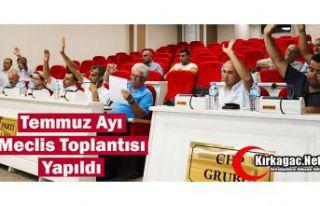 TEMMUZ AYI MECLİS TOPLANTISI YAPILDI