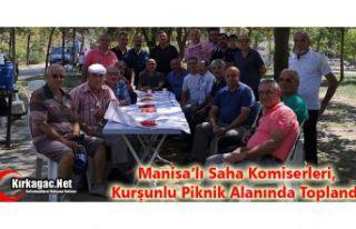 SAHA KOMİSERLERİ, KURŞUNLU PİKNİK ALANINDA TOPLANDI
