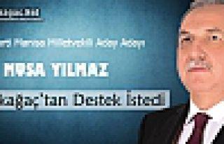 AK PARTİ'Lİ MUSA YILMAZ KIRKAĞAÇ'TA DESTEK...
