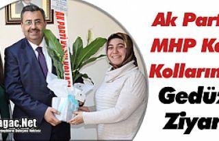 AK PARTİ'Lİ ve MHP'Lİ KADINLARDAN GEDÜZ'E...
