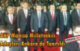 AKP Adayları Ankara'da Tanıtıldı