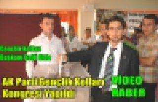 AK Partili Gençler Başkanını Seçti(VİDEO)