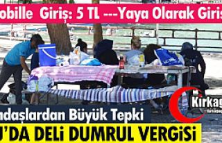 "AKSU'DA ""DELİ DUMRUL VERGİSİ"""