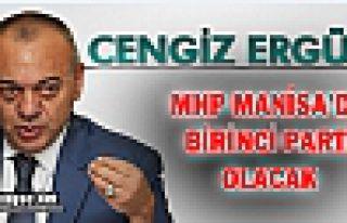 """BAŞKAN CENGİZ ERGÜN """"BİRİNCİ PARTİ OLACAĞIZ"""""""