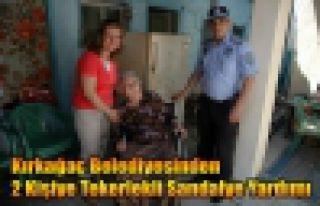 Belediyeden Tekerlekli Sandalye Yardımı