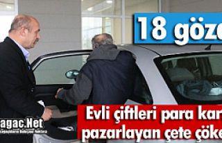 EVLİ ÇİFTLERİ PAZARLAYAN ÇETE ÇÖKERTİLDİ...
