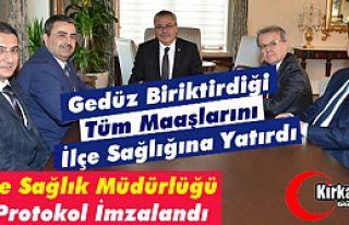 """""""GEDÜZ'DEN"""" KIRKAĞAÇ'A 112 ve İLÇE SAĞLIK..."""