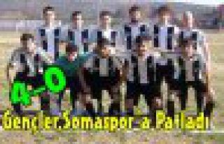 Gençler'den Somaspor'a Farklı Tarife 4-0