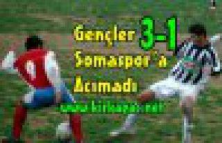 Gençlerimiz, Somaspor'a Acımadı 3-1