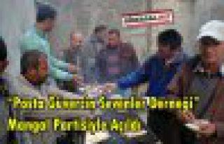 Güvercin Derneği Mangal Partisiyle Açıldı