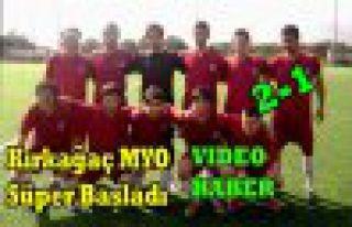 Kırkağaç MYO Süper Başladı 2-1