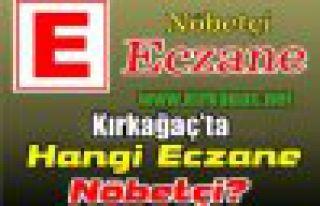 KIRKAĞAÇ NÖBETÇİ ECZANELER(HAZİRAN)