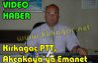 Kırkağaç PTT,Hasan Akçakaya'ya Emanet(VİDEO HABER)