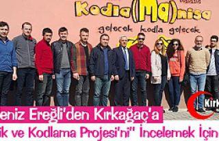 KIRKAĞAÇ'A ROBOTİK ve KODLAMA PROJESİ İÇİN...