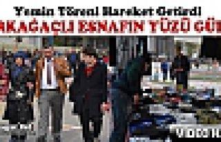 """KIRKAĞAÇLI ESNAFIN YÜZÜNÜ """"YEMİN TÖRENİ""""..."""