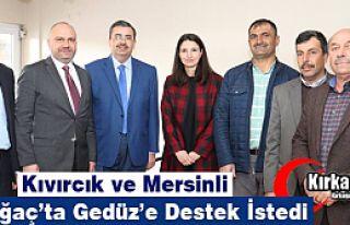 KIVIRCIK ve MERSİNLİ KIRKAĞAÇ'TA GEDÜZ'E...