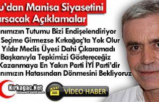 KOMŞU'DAN MANİSA SİYASETİNİ SARSACAK AÇIKLAMALAR(ÖZEL...