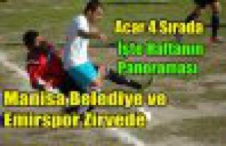 Manisa Belediye ve Emirspor Zirvede