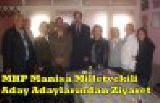 MHP'li Aday Adayları Kırkağaç'ta