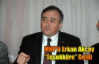 MHP'li Akçay'dan Teşekkür Ziyareti