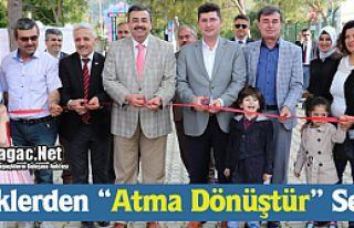 """MİNİKLERDEN """"ATMA DÖNÜŞTÜR"""" SERGİSİ"""