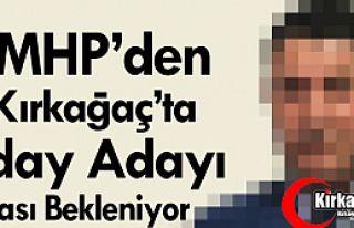 O İSMİN MHP'DEN ADAY ADAYI OLMASI BEKLENİYOR