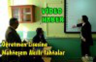 Öğretmen Lisesinin Tahtaları Artık Akıllı(VİDEO)