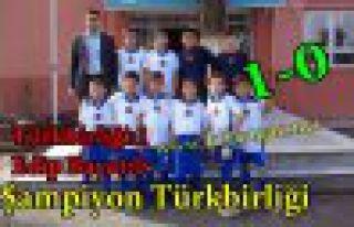 Şampiyon M.G Türkbirliği İ.Ö Okulu 1-0