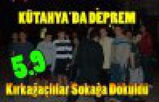 SON DAKİKA.KÜTAHYA'DA DEPREM 5.9