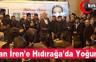"""Ş.OZAN İREN'E """"HIDIRAĞA'DA YOĞUN İLGİ"""""""