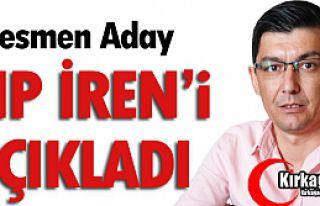 VE CHP ŞERİF OZAN İREN'İ AÇIKLADI