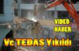 Ve TEDAŞ Binası Yıkıldı(VİDEO)