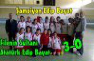 Voleybol'da Şampiyon Edip Bayat