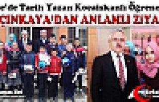 YALÇINKAYA'DAN KOCAİSKANLI ÖĞRENCİLERE ANLAMLI...