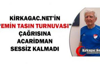 """""""EMİN TASIN TURNUVASI"""" ÇAĞRIMIZA ACARİDMAN SESSİZ KALMADI"""