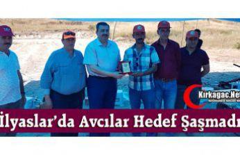 İLYASLAR'DA AVCILAR HEDEF ŞAŞMADI