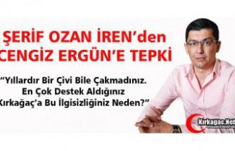 CHP'Lİ İREN'DEN BÜYÜKŞEHİR'E TEPKİ