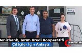DENİZBANK ve TARIM KREDİ KOOPERATİFİ ÇİFTÇİLER...