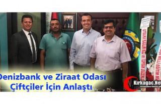 """DENİZBANK ve ZİRAAT ODASI """"ÇİFTÇİLER""""..."""