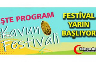 İŞTE KAVUN FESTİVALİ PROGRAMI
