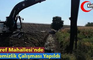"""ŞAİR EŞREF MAHALLESİ'NDE """"DERE TEMİZLİK""""..."""
