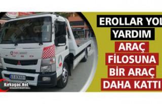 EROLLAR YOL YARDIM ARAÇ FİLOSUNA BİR ARAÇ DAHA...