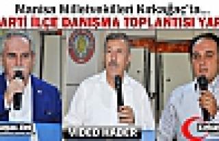 AK PARTİ İLÇE DANIŞMA TOPLANTISI KIRKAĞAÇ'TA...