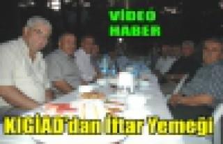 KIGİAD'dan İftar Yemeği(VİDEO)