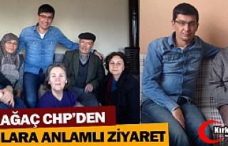 KIRKAĞAÇ CHP'DEN YAŞLILARA ANLAMLI ZİYARET